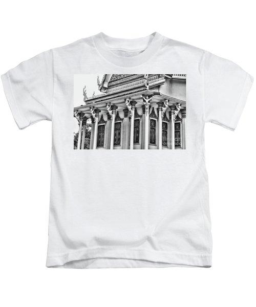 Architecture Black White Kids T-Shirt