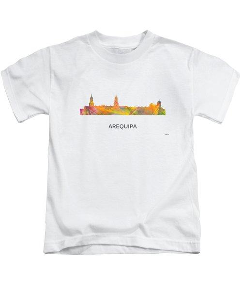 Arequipa Peru Skyline Kids T-Shirt