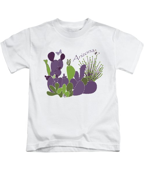Arizona Cacti Kids T-Shirt