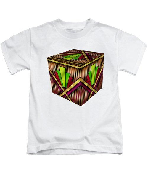 Art Deco 13 Cube Kids T-Shirt