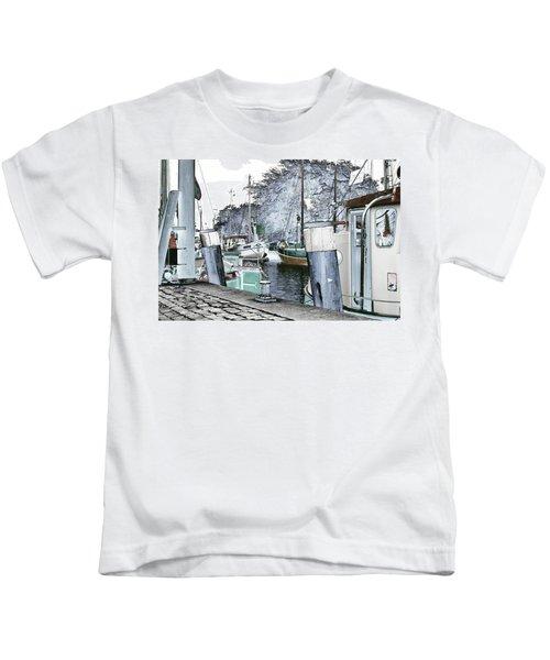 Art Print Boat 2 Kids T-Shirt