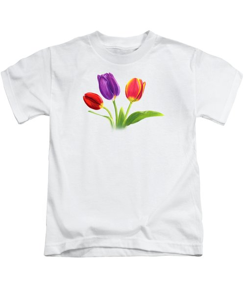 Tulip Trio Kids T-Shirt