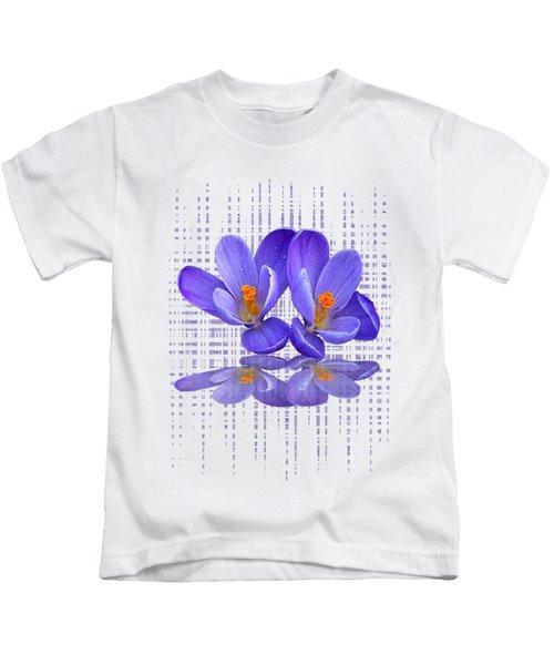 Purple Rain - Vertical Kids T-Shirt