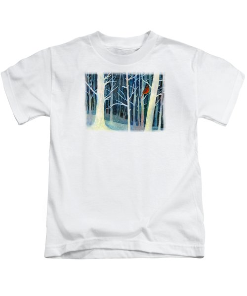 Quiet Moment Kids T-Shirt by Hailey E Herrera