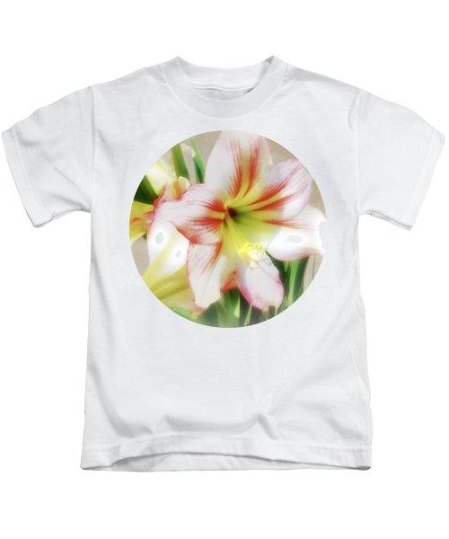 Amaryllis By Morning Kids T-Shirt