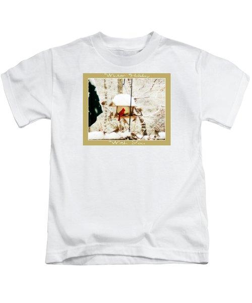 Winter Holiday Kids T-Shirt