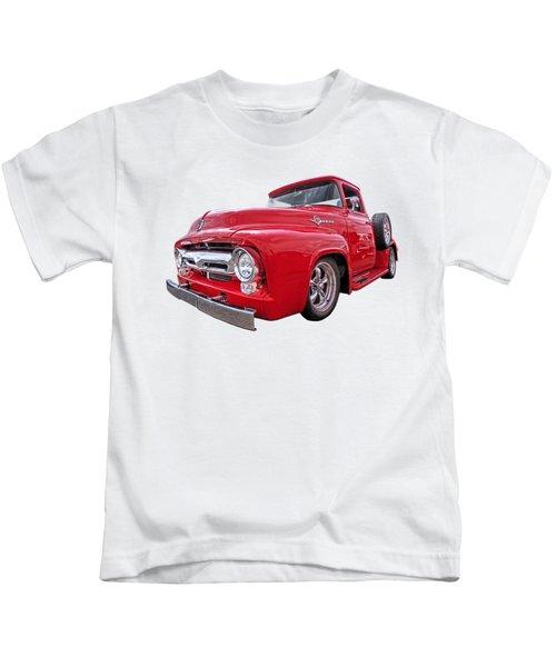 Red F-100 Kids T-Shirt