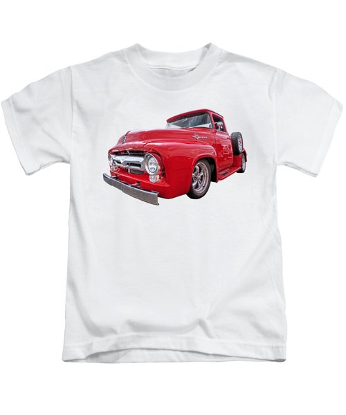 Red F-100 Kids T-Shirt