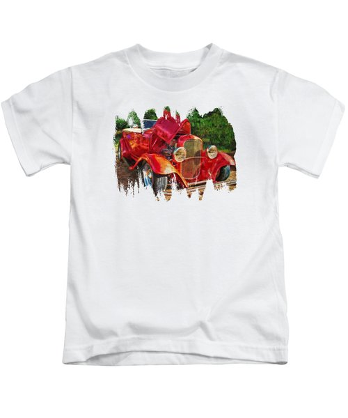 The Red Bell Roadster Kids T-Shirt