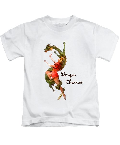 Dragon Charmer Kids T-Shirt