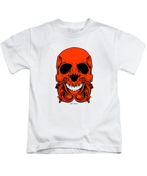 Red Skull  Kids T-Shirt