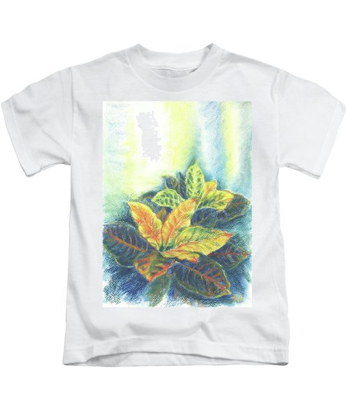 Colorful Leaves Kids T-Shirt