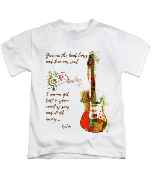 Drift Away Country Kids T-Shirt