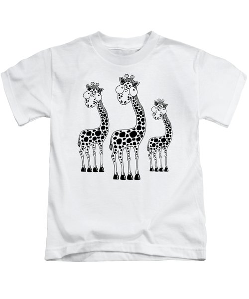 Fudge The Giraffe Kids T-Shirt