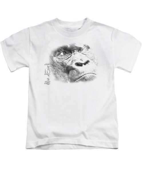 Big Gorilla Kids T-Shirt by iMia dEsigN