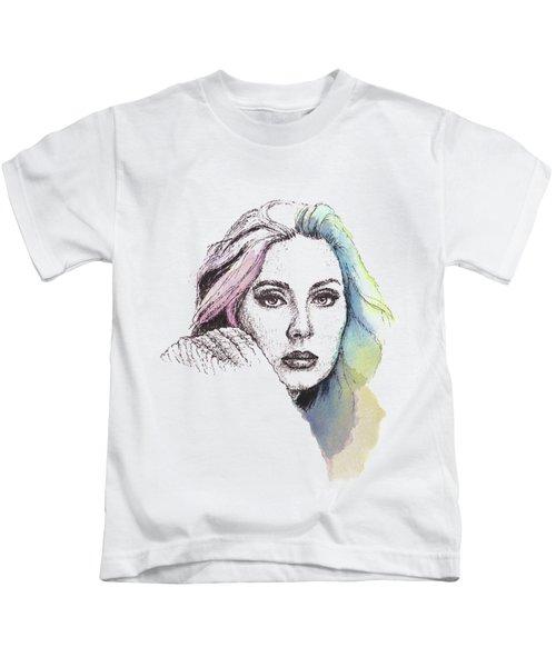 Someone Like You Kids T-Shirt by Romualdo Salazar