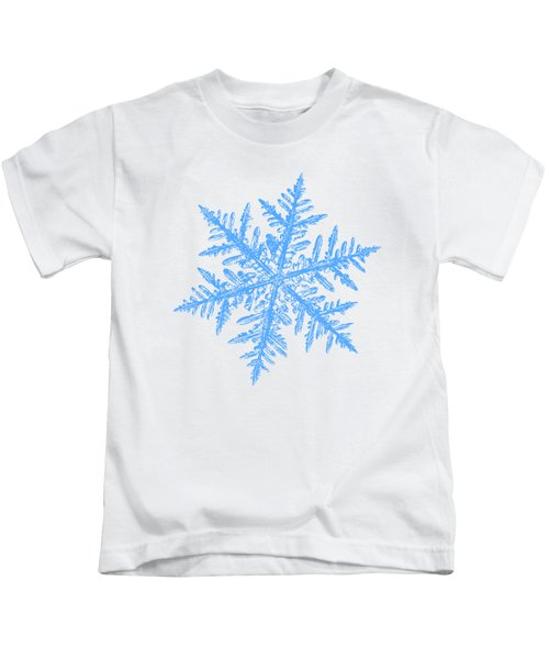 Snowflake Vector - Silverware White Kids T-Shirt