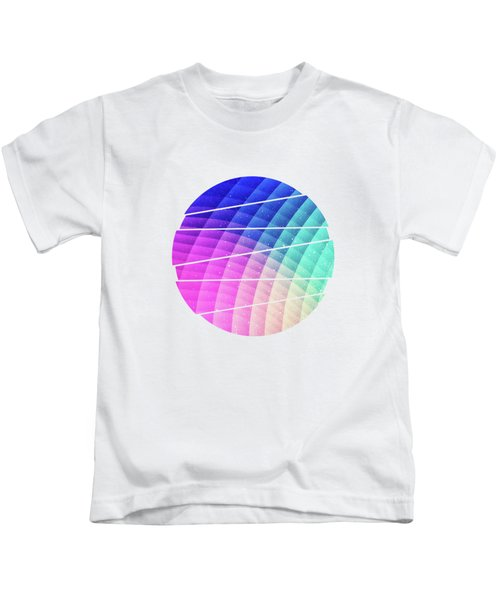 Abstract Colorful Art Pattern Ltbg Low Poly Texture Aka Spectrum Bomb Photoshop Colorpicker Kids T-Shirt