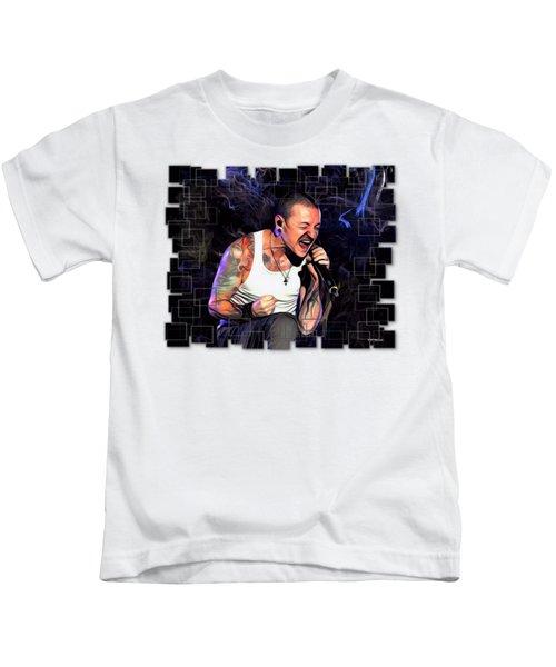 Chester Bennington From Linkin Park  Kids T-Shirt