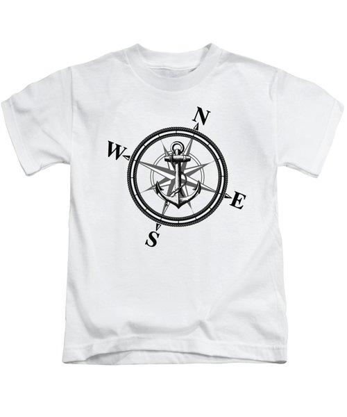 Nautica Bw Kids T-Shirt by Nicklas Gustafsson
