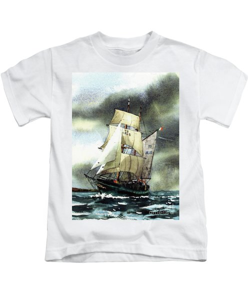 F  758  Asgard 11 Often Sailed Along The Wild Atlantic Way Kids T-Shirt