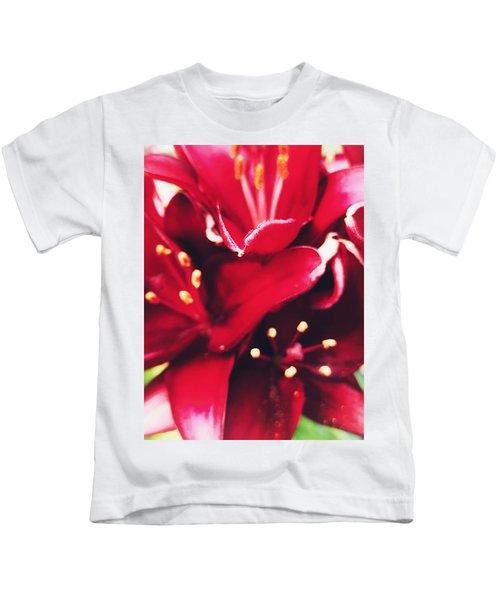 Asiatic Lilies Kids T-Shirt