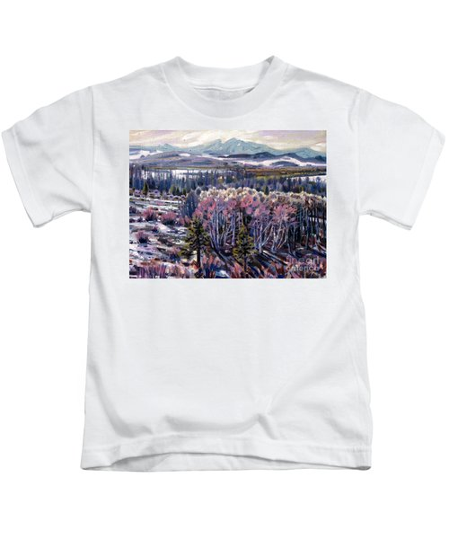 Aspen In April Kids T-Shirt