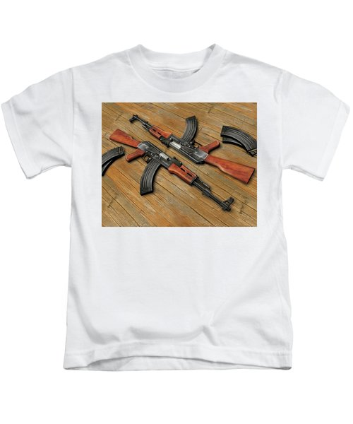 Assault Rifle Kids T-Shirt