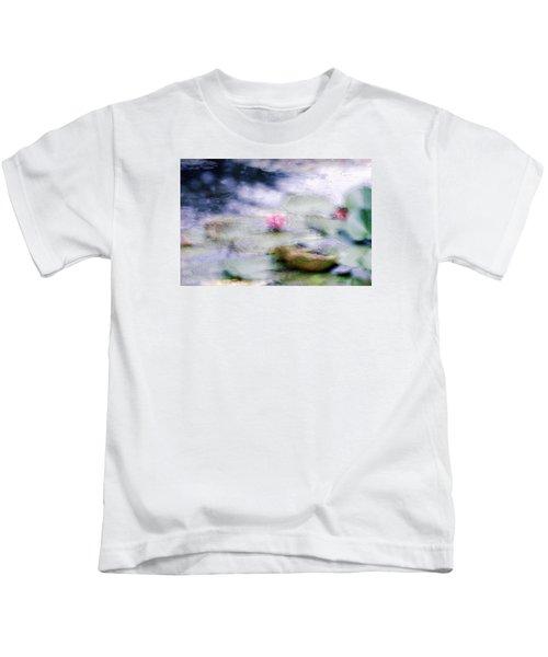 At Claude Monet's Water Garden 12 Kids T-Shirt