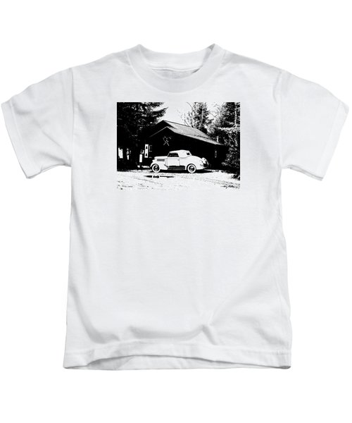 At The Cabin Kids T-Shirt
