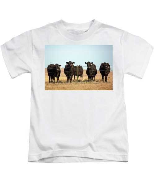 At The Fence Kids T-Shirt