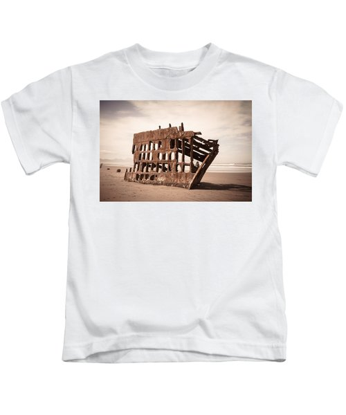 At The Helm Kids T-Shirt