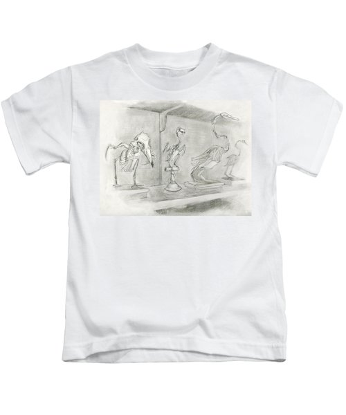 Bird Skeletons Kids T-Shirt