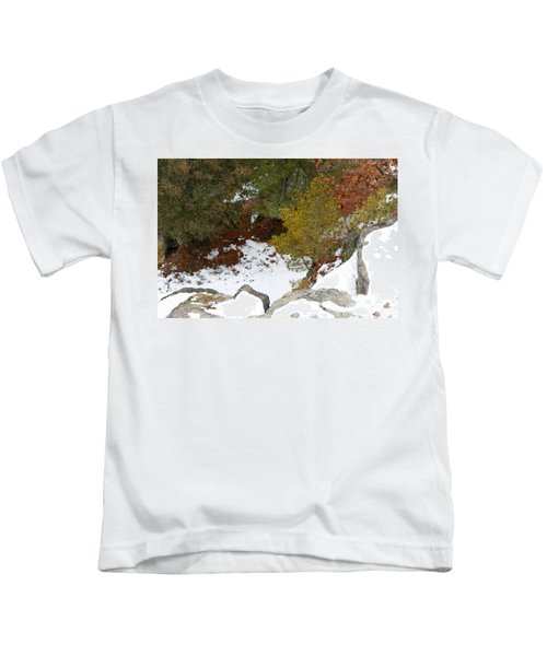 Atop Starved Rock Kids T-Shirt