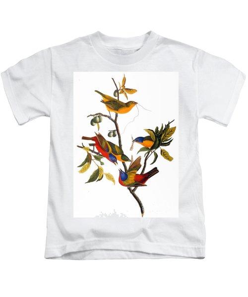 Bunting, 1827 Kids T-Shirt