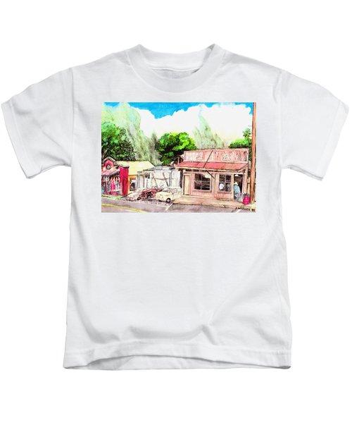 Auggies Pool Hall Kids T-Shirt