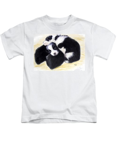 Australian Cattle Dog Puppies Kids T-Shirt