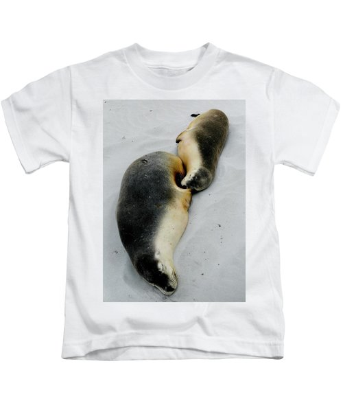 Australian Sea Lions Kids T-Shirt