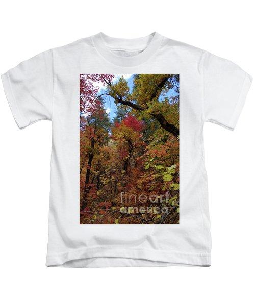 Autumn In Sedona Kids T-Shirt