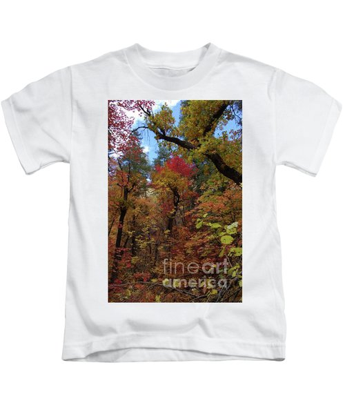 Autumn In Sedona Kids T-Shirt