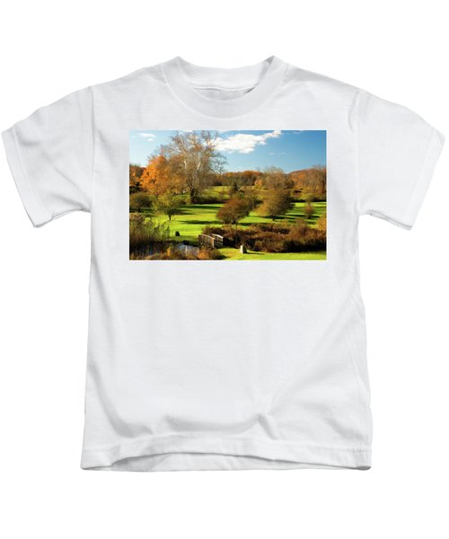 Autumn In The Park Kids T-Shirt