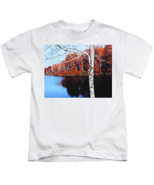 Autumn Lake Kids T-Shirt