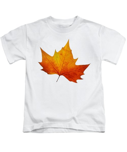 Autumn Leaf 1 Kids T-Shirt