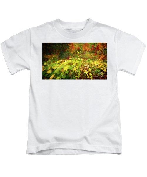 Autumn Watercolor Kids T-Shirt