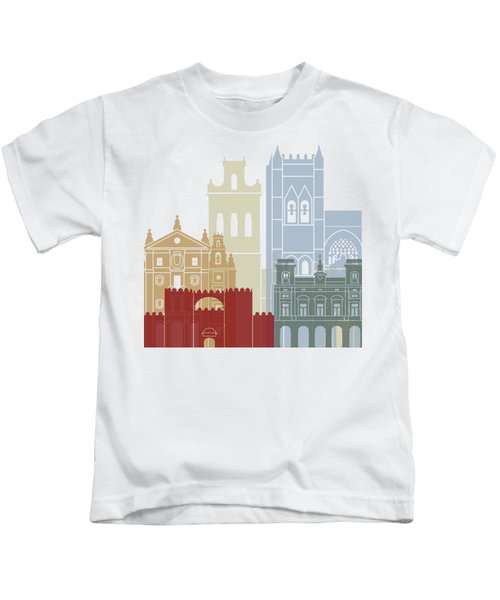 Avila Skyline Poster Kids T-Shirt