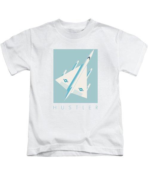 B-58 Hustler Supersonic Jet Bomber - Sky Kids T-Shirt