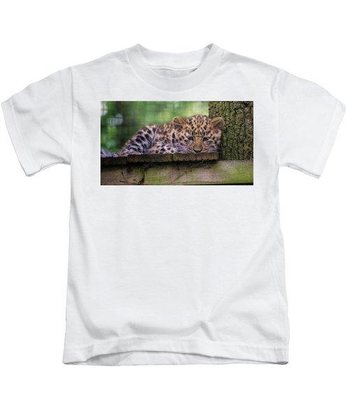 Baby Amur Leopard Kids T-Shirt