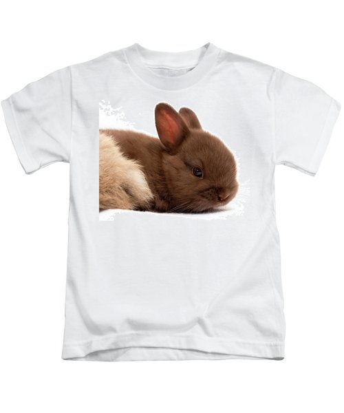 Baby Bunny  #03074 Kids T-Shirt