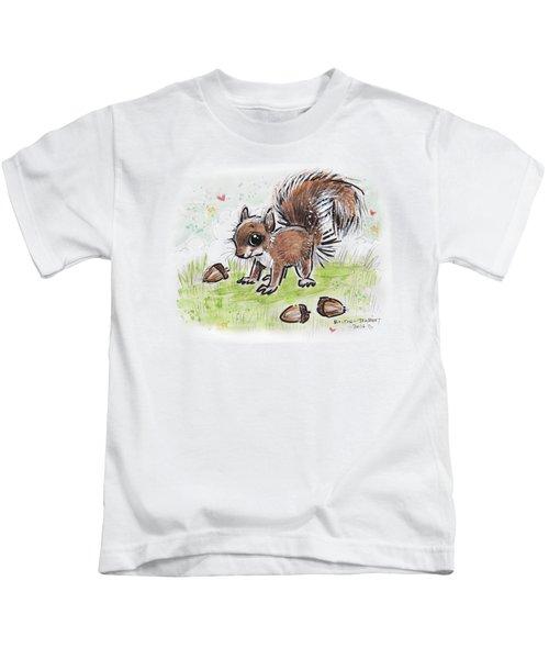 Baby Squirrel Kids T-Shirt