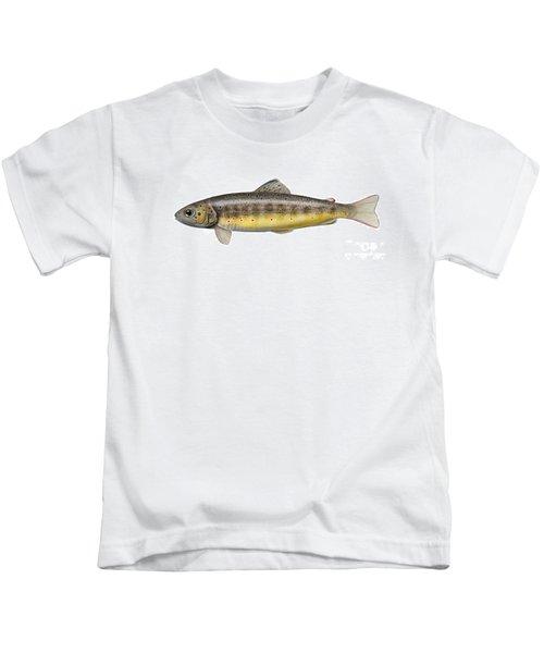 Bachforelle - Indigene - Autochthone- Beekforel - Oering - Truite De Riviere - Trucha Comun Kids T-Shirt